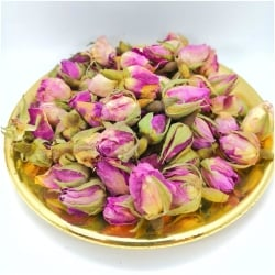Pink Rose Buds Tea rosebuds