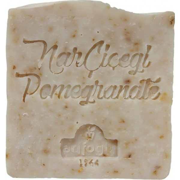 organic pomegranate flower soap