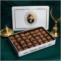 Chocolate Baklava in Metal Box, 1,65kg