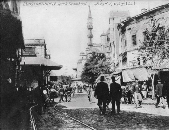 Hamidiye Street in Early 1900s