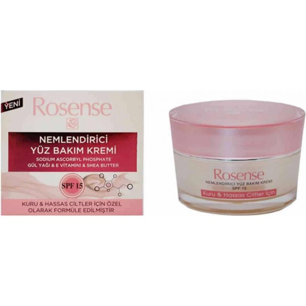 Moisturizing Face Care Cream Rosense