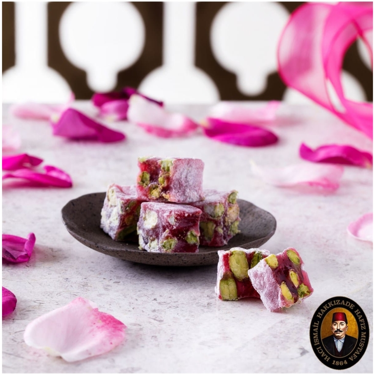Rose Pistachio Turkish Delight