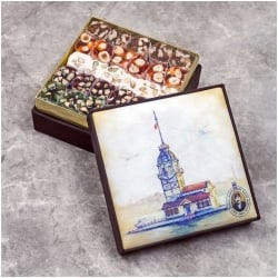 Maiden's Tower Turkish Delight Box, Hafiz Mustafa