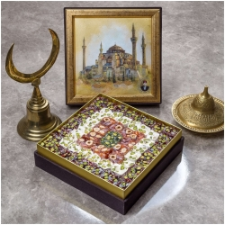 Assorted Mosaic Turkish Delight Box