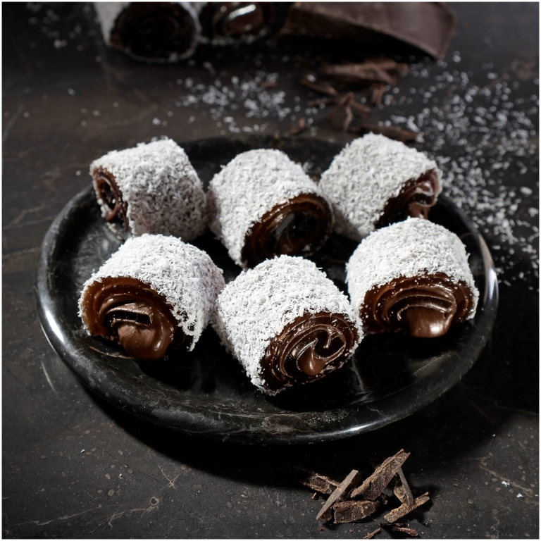 Sultan Chocolate Turkish Delight with Coconut