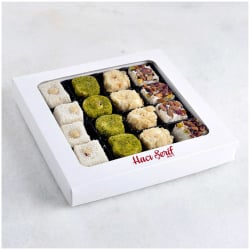 Assorted Sultan Turkish Delights, Haci Serif, 400g