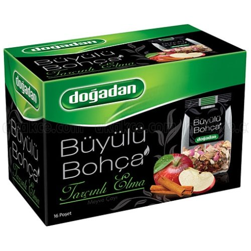 Apple Fruit Tea with Cinnamon, Dogadan Buyulu Bohca