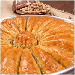 Carrot Slice Baklava with Pistachio, Havuc Dilim