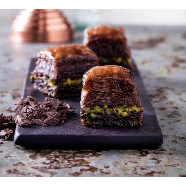 Chocolate Baklava with Pistachio, Hafiz Mustafa
