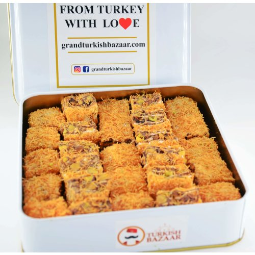 Kadayif Covered Turkish Delight