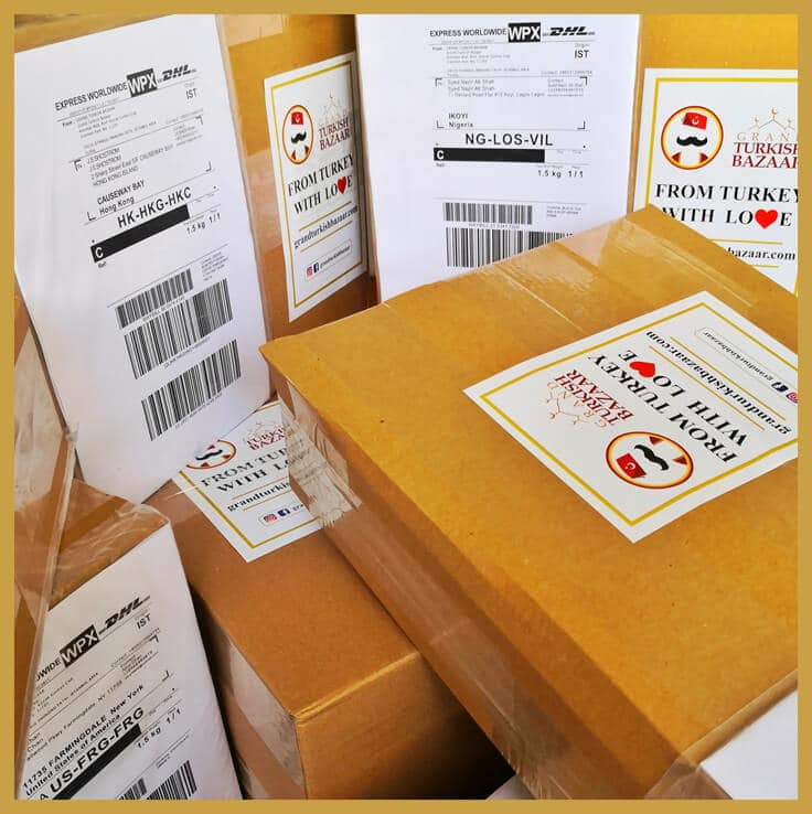 We use Best  Shipping Methods Available on the Market