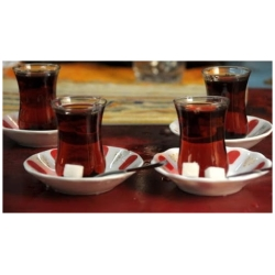 Traditional Turkish Tea Saucers