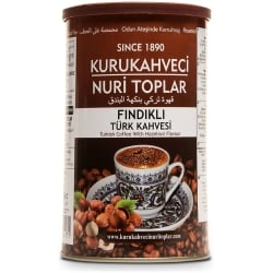 Turkish Coffee with Hazelnut Flavour, 250g-9oz