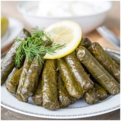 Turkish Yaprak Sarma, Stuffed Grape Leaves