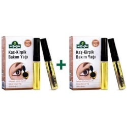 Eyebrow & Eyelash Care Oil, Arifoglu, 2 Boxes, 2 x (20ml - 0.68floz)