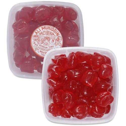 Rose Flavoured Hard Candy, Turkish Akide