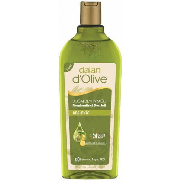 Pure Olive Oil Shower Gel, Dalan D'olive, 400ml - 13.53floz