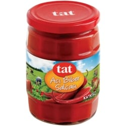 Hot Pepper Paste, Tat, 550g - 20oz
