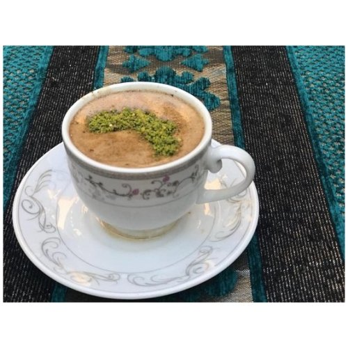 menengic coffee with pistachio