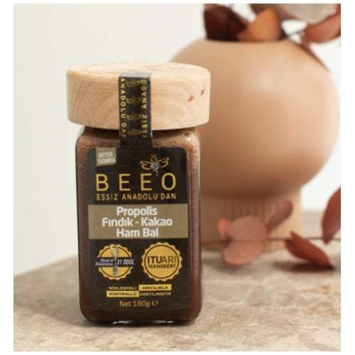 Cocoa, Hazelnut, Propolis and Raw Honey Mix, Beeo