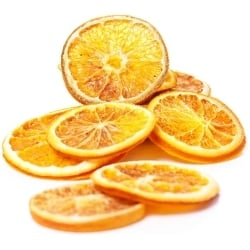 Dried Orange Slices, Natural