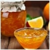 Orange Peels Jam, Turkish Portakal Receli