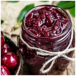 Sour Cherry Jam, Turkish Visne Receli, 380g-13.40oz