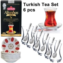 Turkish Tea Making Set, Traditional