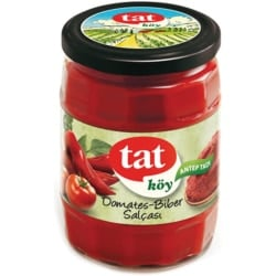 Village Type Tomato and Pepper Paste, Tat, 560g- 20oz