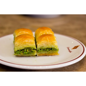 Dry Baklava with Pistachio