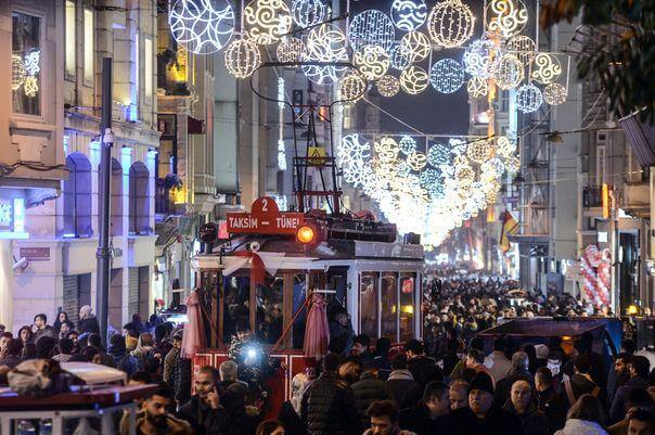 Istiklal Street Night