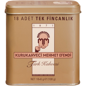 Kurukahveci Mehmet Efendi Turkish Coffee Sachets 18