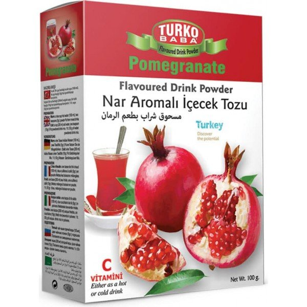 Turkish Pomegranate Tea, Turko Baba