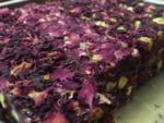 Rose Petals Covered Turkish Delight
