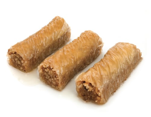 Wrap Baklava with Walnut